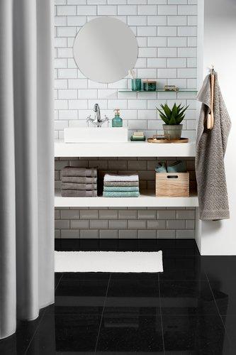 Bath towel NORA grey KRONBORG