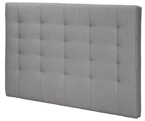Sengegavl H50 STITCHED 150x125 grå-20
