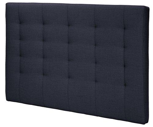 Sengegavl H50 STITCHED 150x125 blå-86