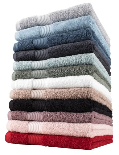 Badehåndklæde KARLSTAD hvid KRONBORG
