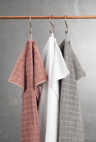 Bath towel KARBY dusty rose