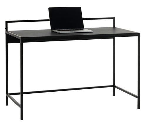 Bureau TISTRUP 60x120 zwart