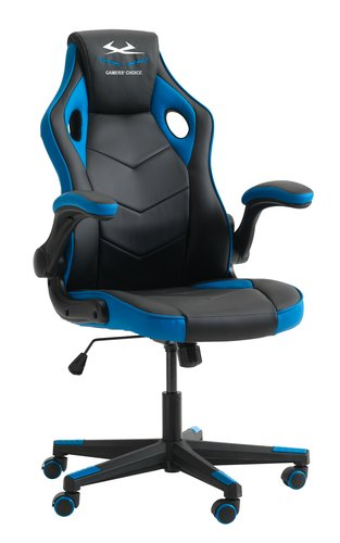 Gaming chair VOJENS black/blue