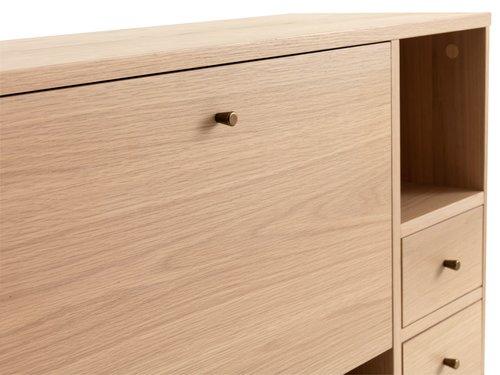 Sivupöytä SVANEKE 36x90 tammi