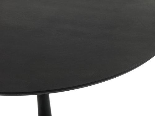 Table RINGSTED Ø100 noir