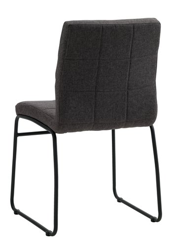 Dining chair HAMMEL grey/black