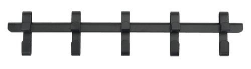 Knagg GALSTED 5 kroker svart