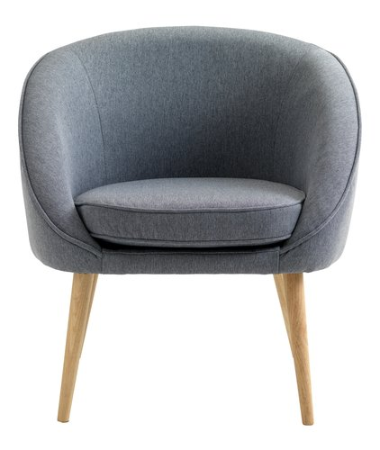 Armchair OREVED dusty blue
