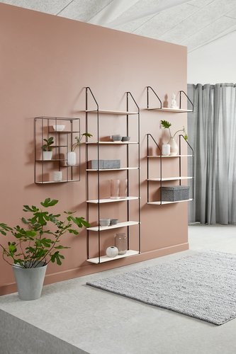 Wall shelf HEJLSMINDE 65x20 low natural