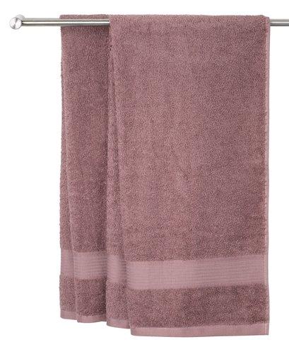 Ręcznik KARLSTAD 70x140 szarobrązowy