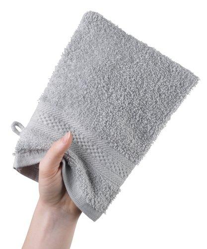 Guanto da bagno UPPSALA 14x20 grigio ch.