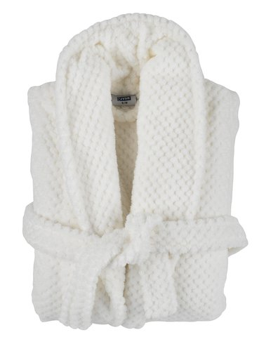 Bathrobe NITTA L/XL white