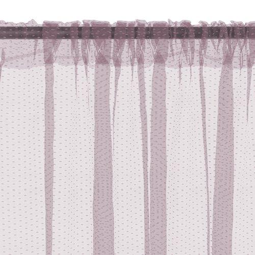 Штора LYA 140x300 фиолетовый