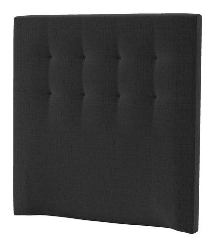 Sänggavel 120x125 H50 STITCHED grå-41