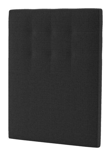 Sänggavel 105x125 H50 STITCHED grå-40