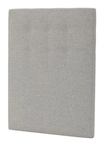 Sänggavel 105x125 H50 STITCHED grå-29