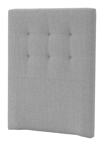 Sengegavl H50 STITCHED 90x125 grå-31