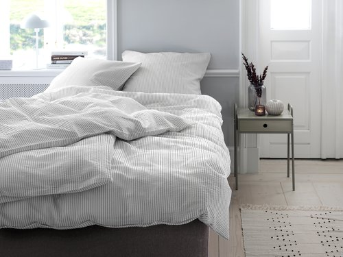 Lenjerie pat+cearsaf STINNE dublă