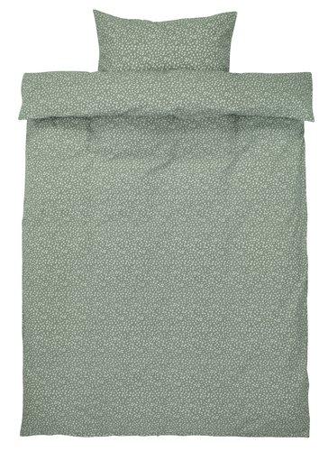 Duvet cover HANNA SGL green