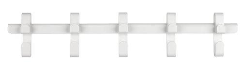 Вішалка настінна GALSTED 5гачків білий
