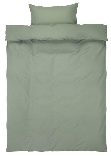 Pussilakanasetti ELLEN 150x210 vihreä