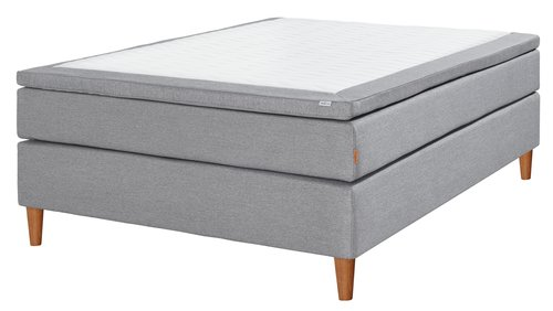 Boxspring 140x200 GOLD C35 traagschuim