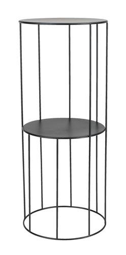 Sockel PELLE Ø25xH60cm schwarz