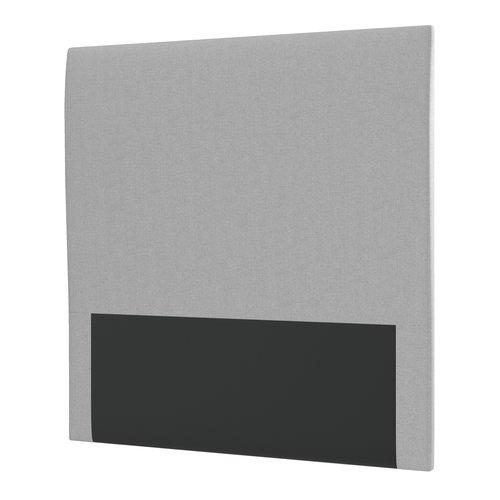 Sänggavel 105x115 H10 PLAIN grå-27