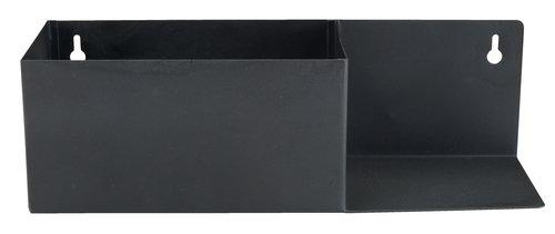 Regal KOLSVA W10xL30xH9cm schwarz