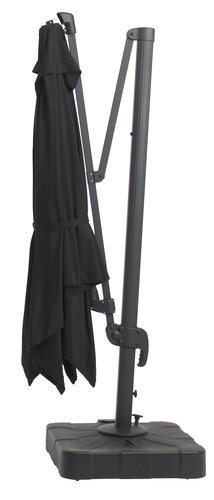 Napernyő KERTEMINDE SZ300xH300 fekete