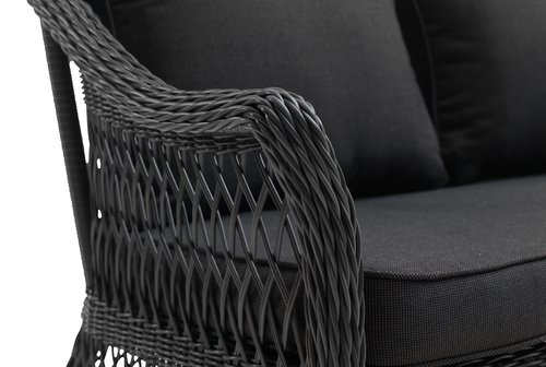 Set lounge MAGLEBJERG 5 pers. grigio