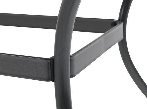 LARVIK L200 grå + 4 LARVIK grå stable