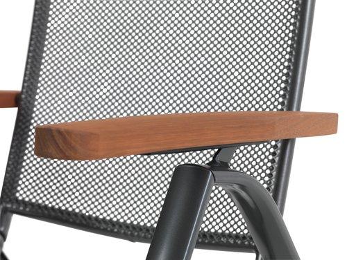 Podesiva stolica LARVIK siva