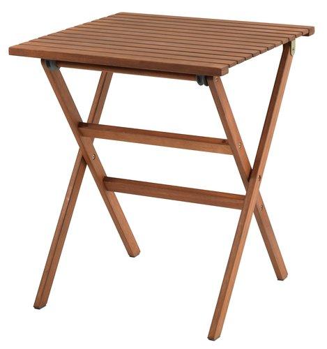 Bistro stol VEN Š62xD62 tvrdo drvo