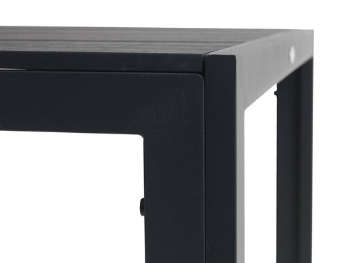 Stôl MADERUP Š90xD150 čierna