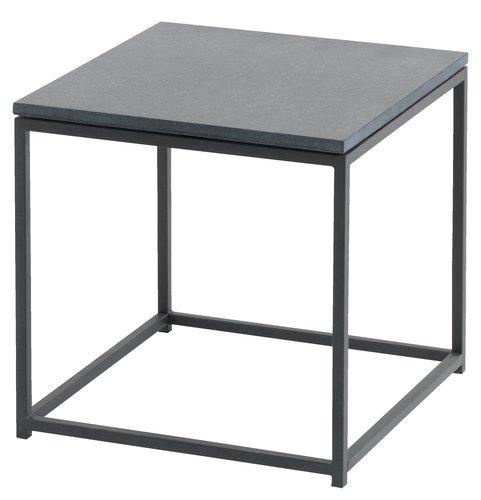 Tavolino OLDHUSE P45xL45xH45 nero