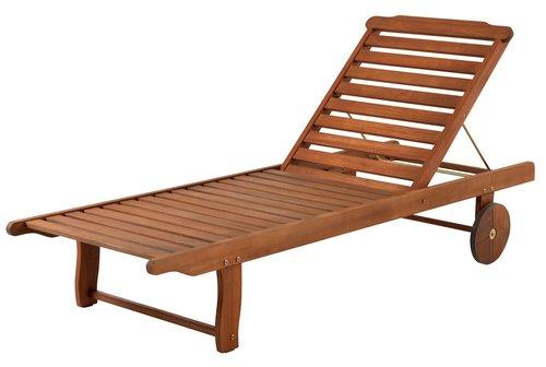 Tumbona DALRIPA A71xL189 madera dura