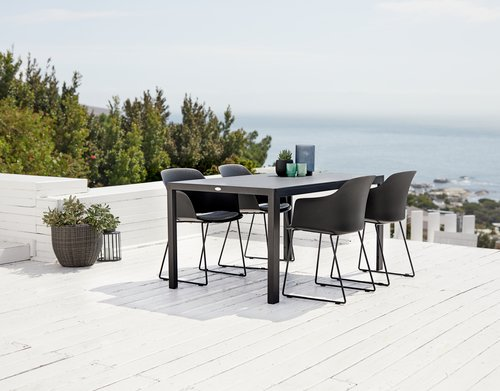 Table MADERUP W90xL150 black