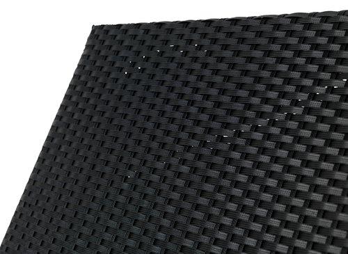 Sezlong HASLE 70x198 negru
