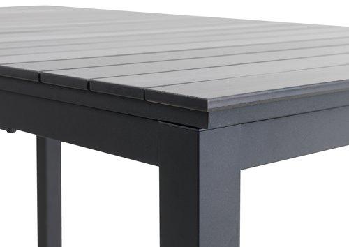 MOSS L214/315 grå + 4 MYSEN grå