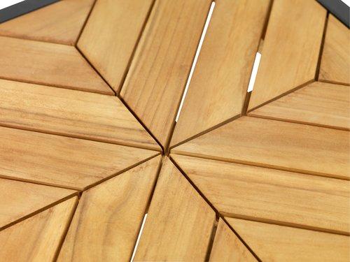 Комплект маси NAUR тикова дървесина
