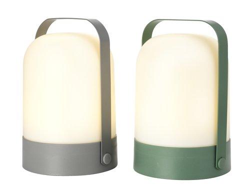 Battery lamp GRESSHUMLE D15xH21cm asstd.