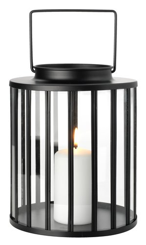 Lanterne MYRSANGER Ø20xH25 sort
