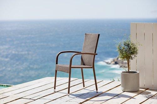Složiva stolica GUDHJEM smeđa