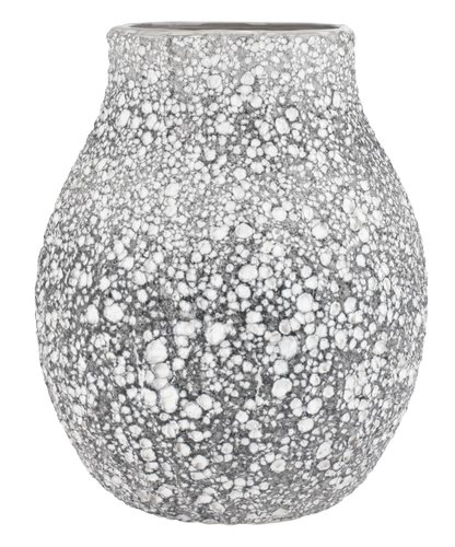 Vase MATHIAS Ø21xH25cm gris