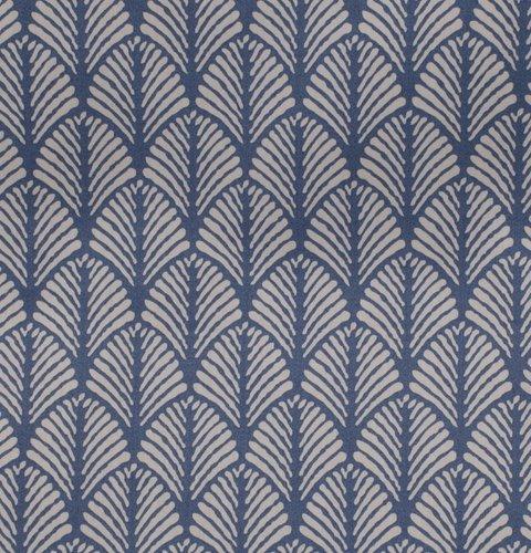 Påslakanset HANNE Satin 150x210 blå