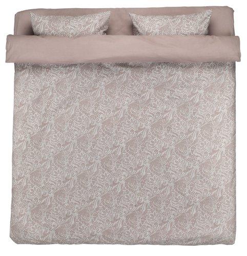 Lenjerie de pat+cearsaf AMALIE dublă