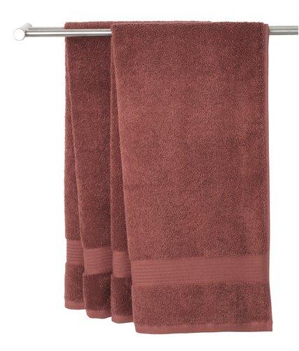 Кърпа KARLSTAD 70x140см керем.червено