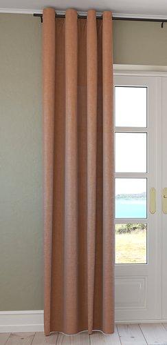 Rideau ISTEREN 1x140x300cm brun clair