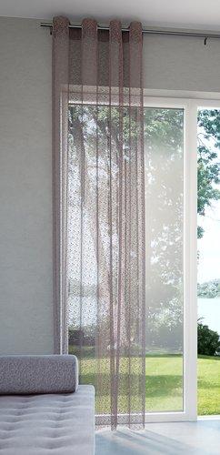 Завеса LURO 1x140x300 см сивокафява